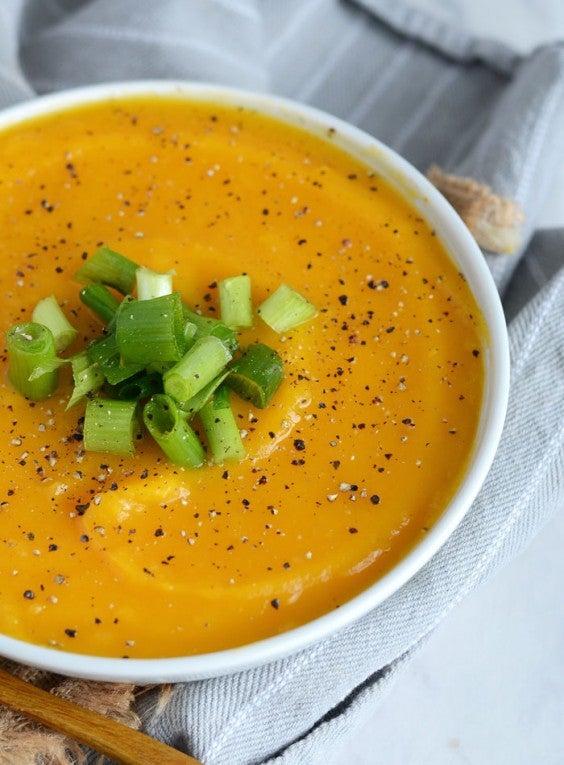 9. Slow-Cooker Butternut Squash Soup