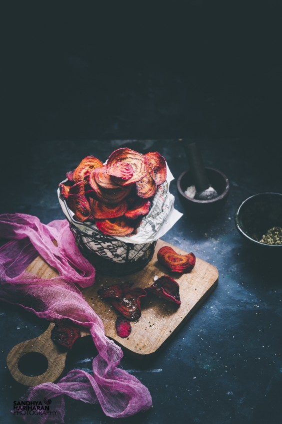 6. Beetroot Chips