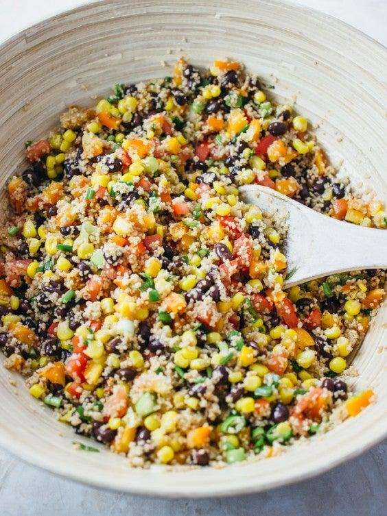 9. Savory Southwest Couscous Salad