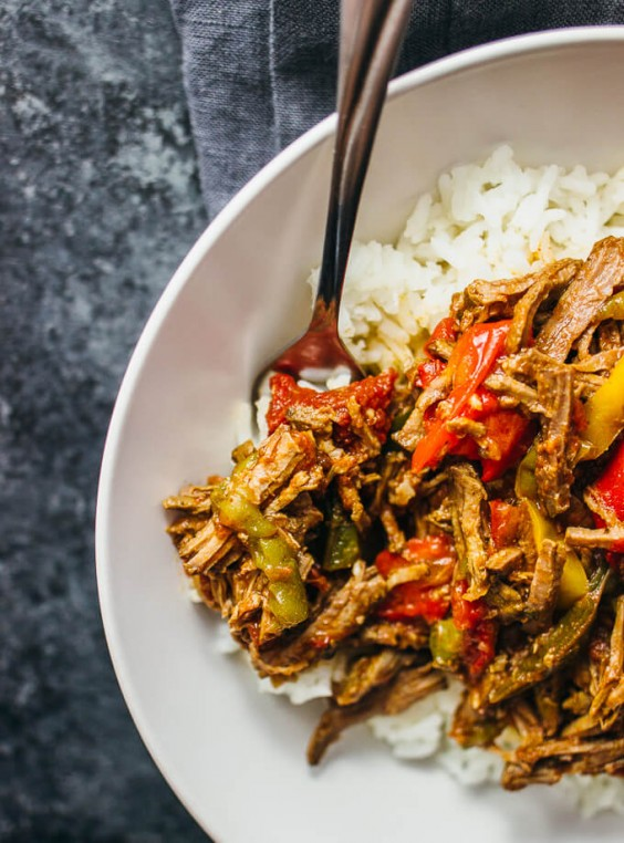 2. Slow Cooker Ropa Vieja