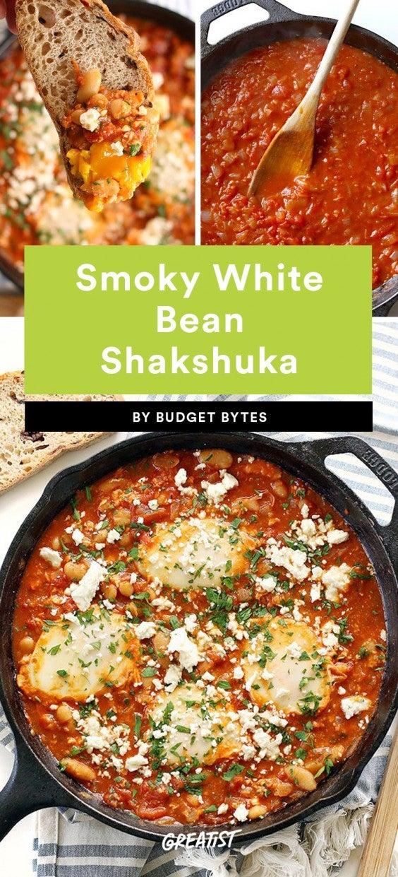 Smoky White Bean Shakshuka