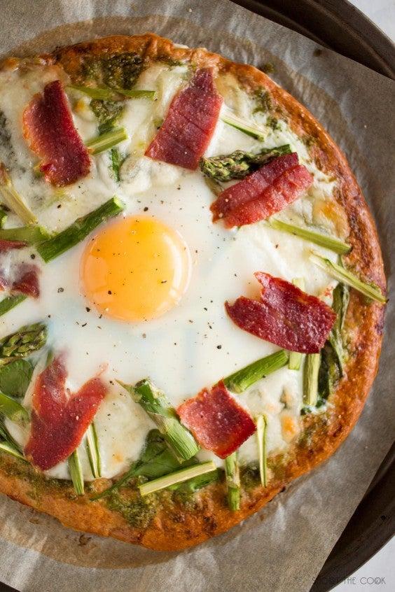 17. Three-Ingredient Oatmeal Pizza Crust