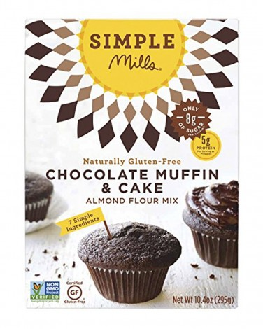 2. Simple Mills Chocolate Muffin and Cake Mix