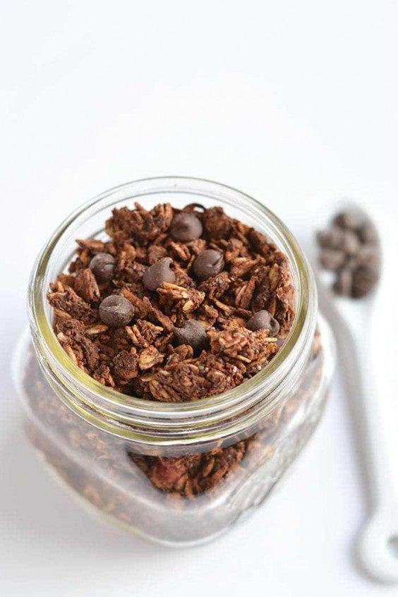 7. Skinny Chocolate Granola With Chia