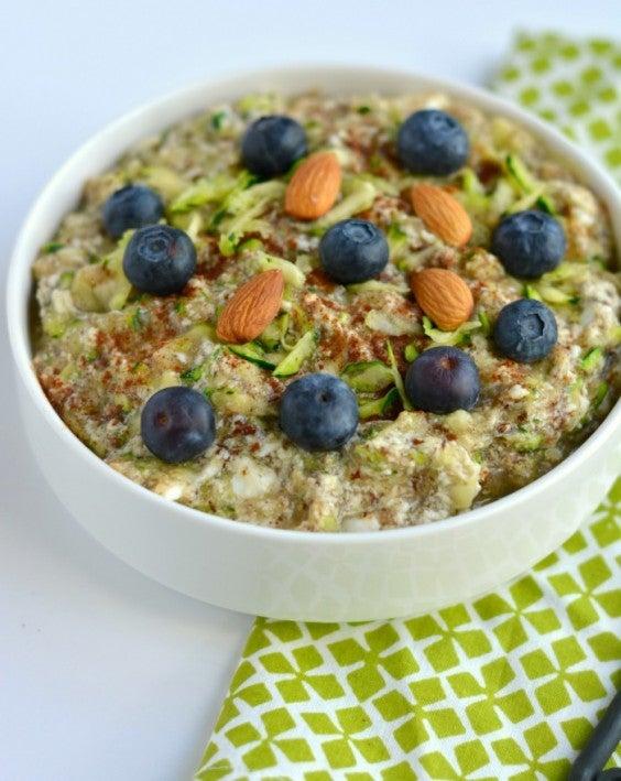 10. Zucchini Oatless Oatmeal