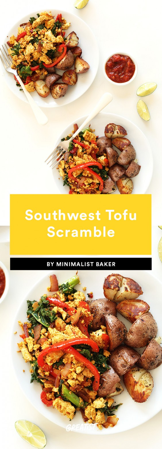 1. Southwest Tofu Scramble