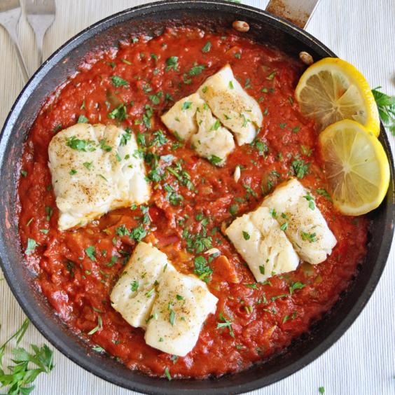 1. Ultimate Spanish Cod With Tomato Sauce