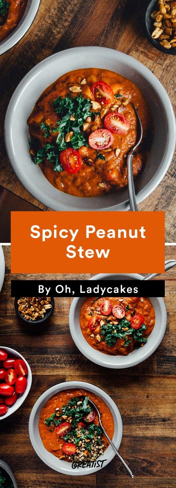 oh ladycakes: Spicy Peanut Stew