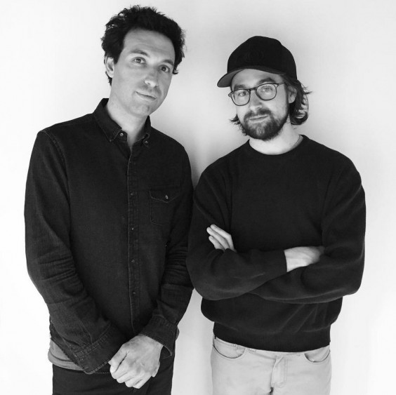 Alex Karpovsky and Teddy Blanks