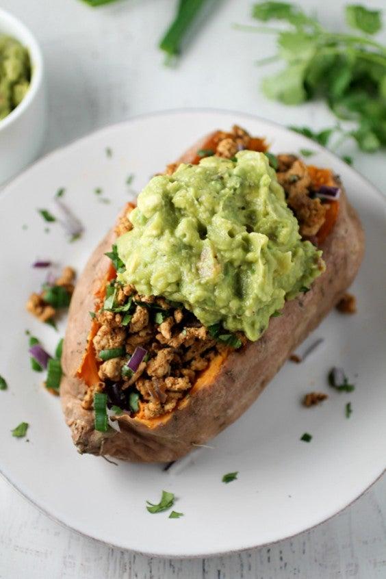 4. Taco Stuffed Sweet Potato