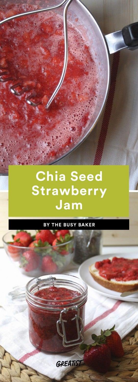 Chia Seed Strawberry Jam