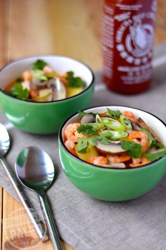 5. Thai Coconut Soup