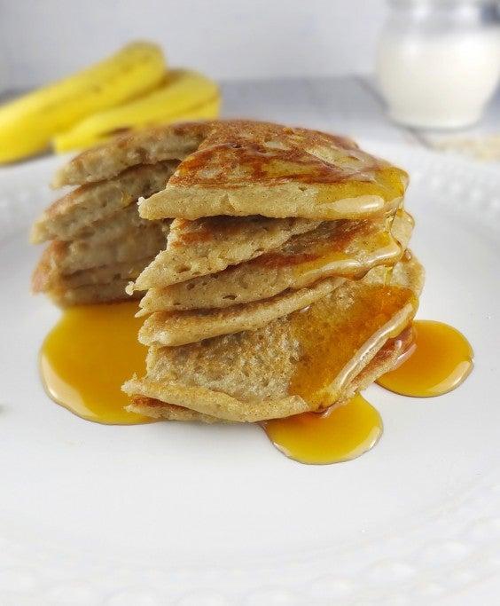 8. Oatmeal Pancakes