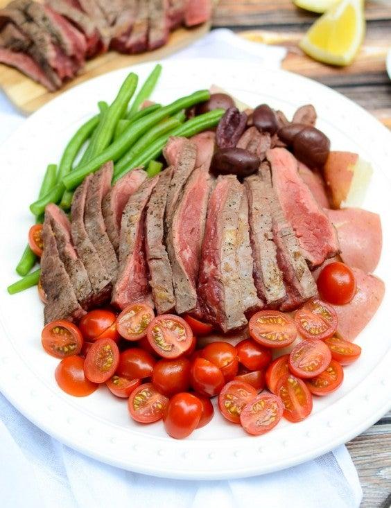 10. Dijon Steak Nicoise Salad