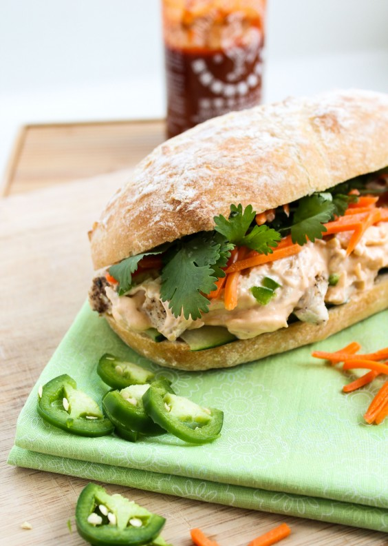 8. Leftover Turkey Asian Sandwich