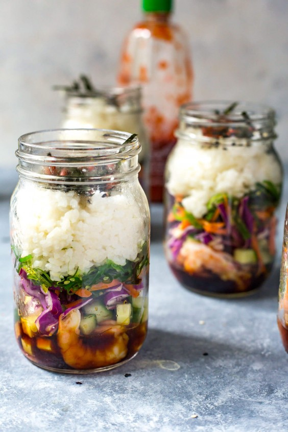21 Mason Jar Meals That Make Meal Prep More Manageable