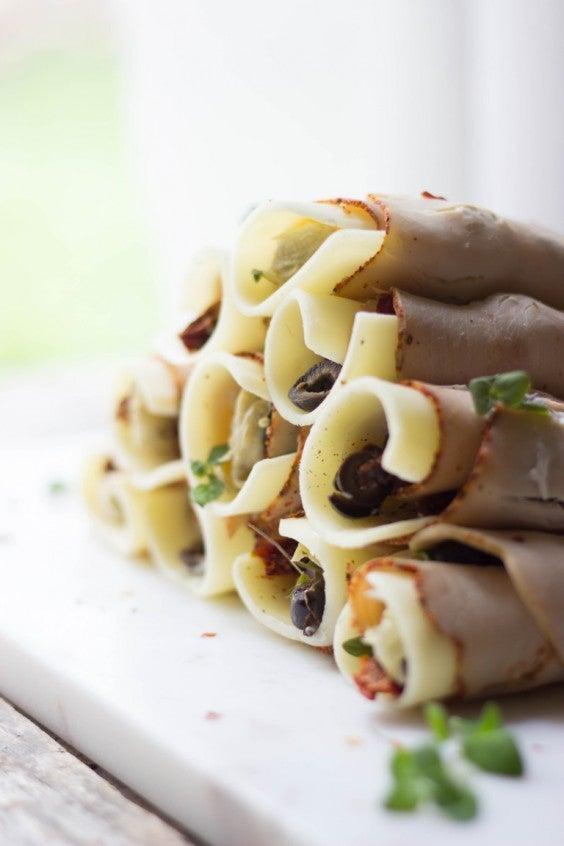 6. Antipasto Turkey Rollups