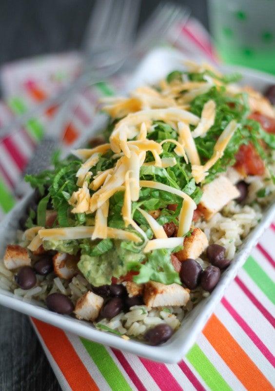 12. Chipotle: Chicken Burrito Brown Rice Bowl