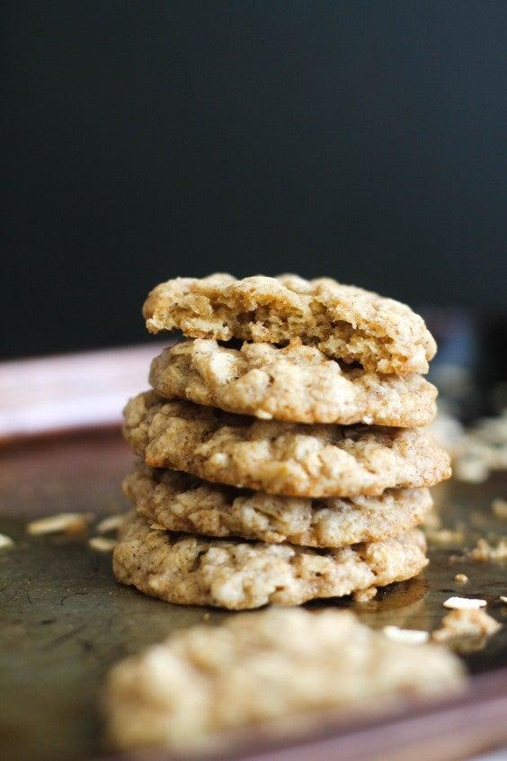 14. Chai Spiced Oatmeal Cookies
