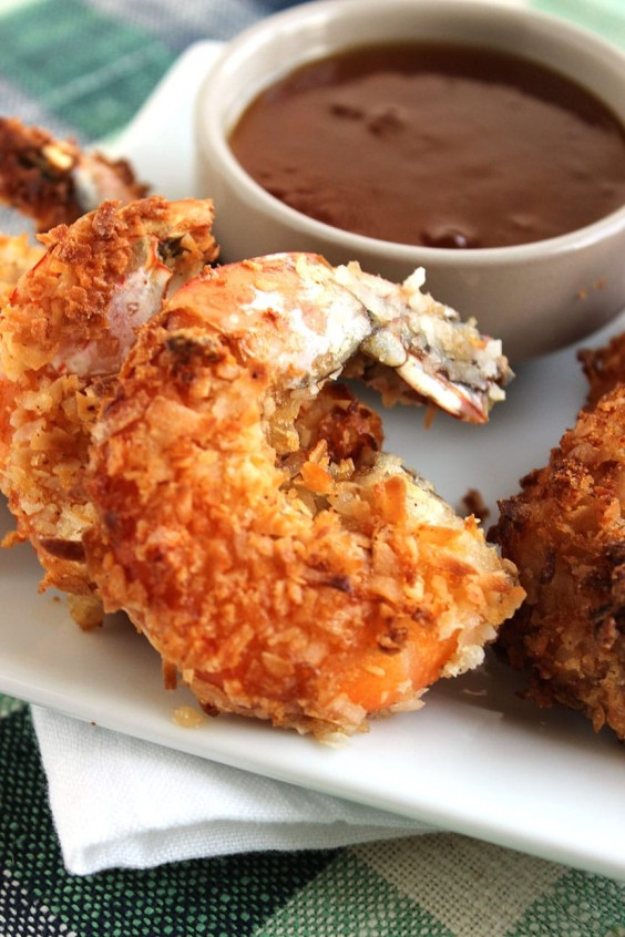 9. Coconut Shrimp With Spicy Marmalade Sauce