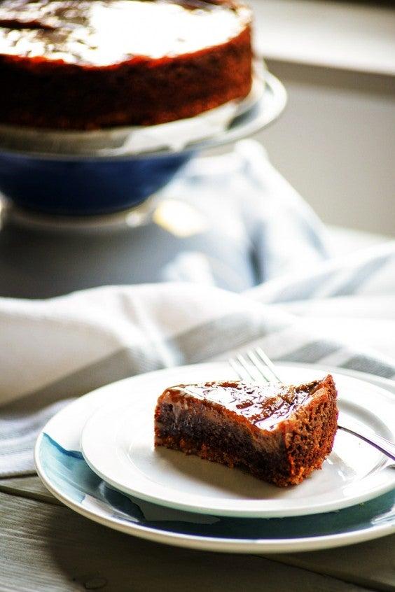 13. Chocolate Fruit Pecan Pie