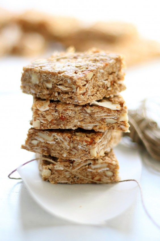 6. Chai Spiced Almond Granola Bars