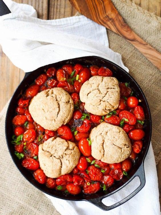1. Savory Tomato Cobbler