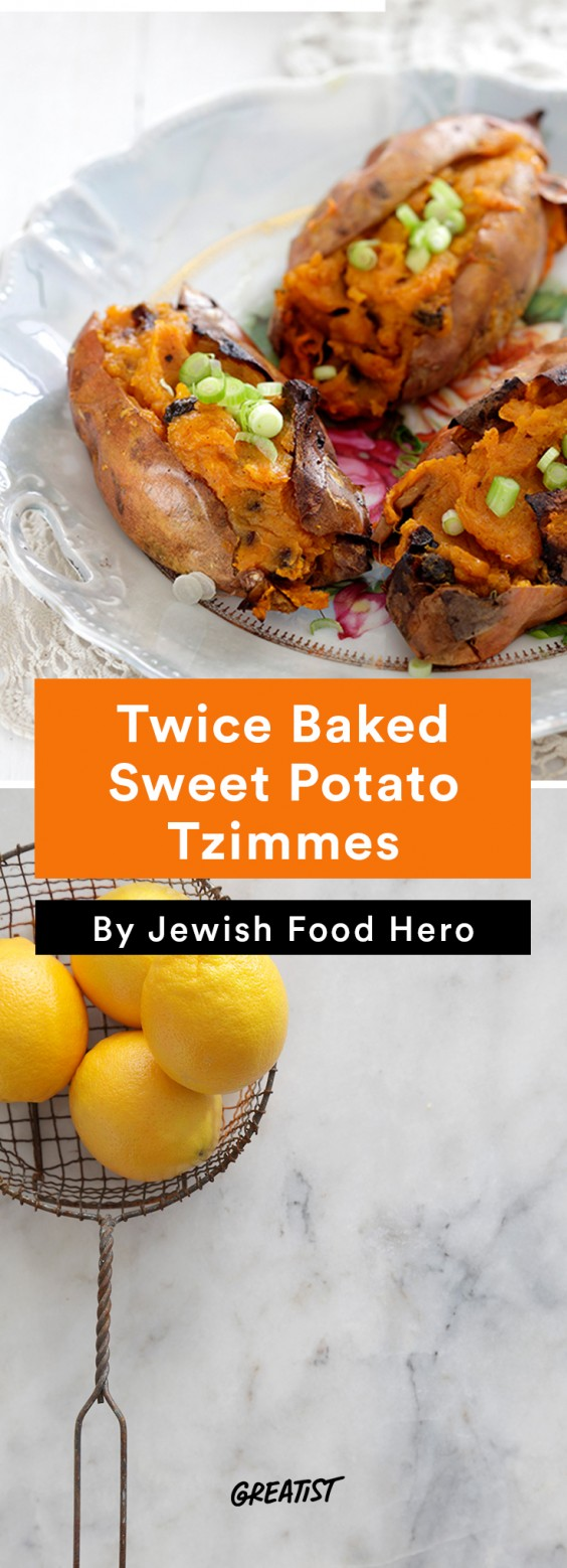 jewish food hero: Sweet Potato Tzimmes