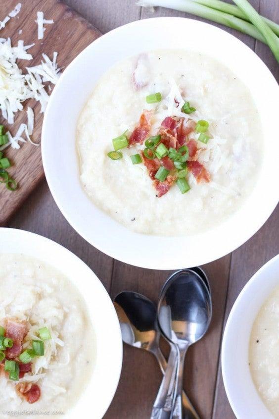 11. Easy Crock-Pot Potato Soup