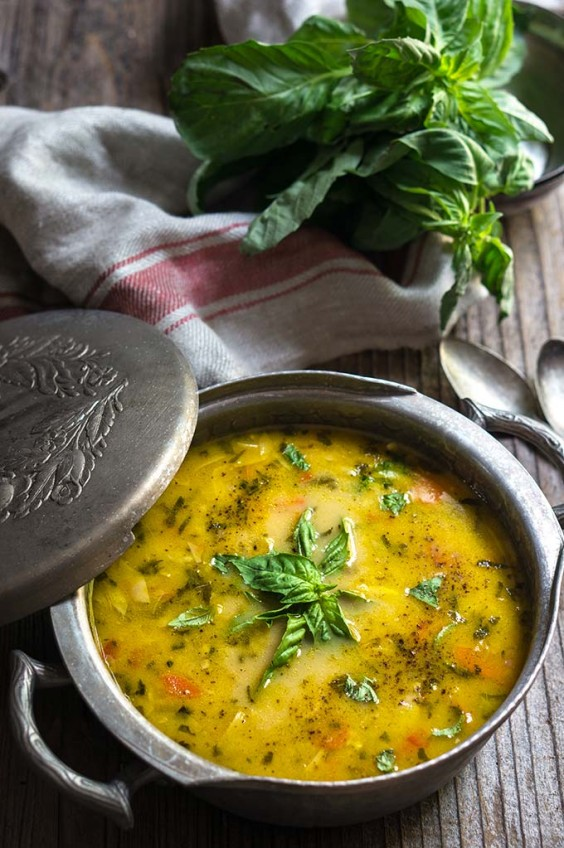 9. Chicken Artichoke Lemon Soup