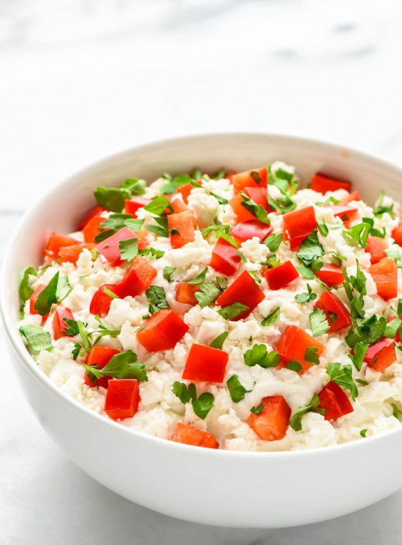 4. Garlic Feta Dip