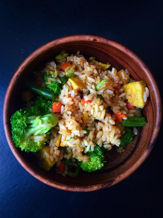12. 10-Minute Fried Rice for One