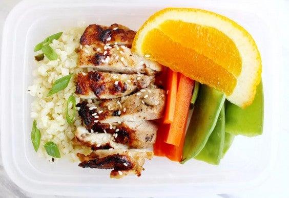Sesame Ginger Chicken Meal-Prep Bowl