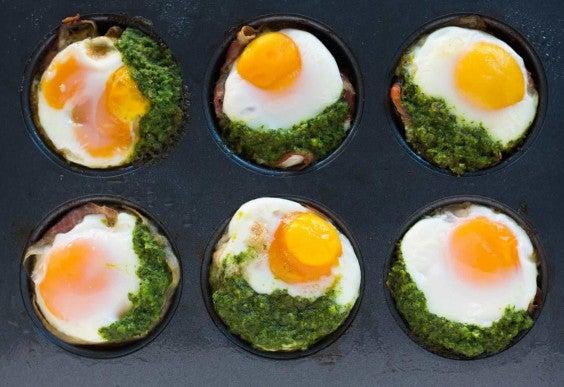 Prosciutto Plantain Egg Cups