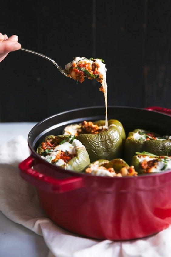Freezer Meals: Stuffed Pepperes