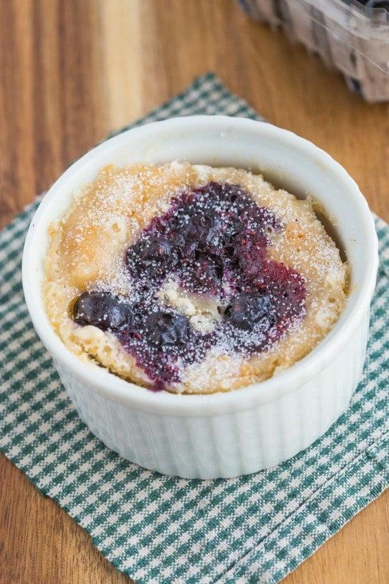 Mug Meals: Blueberry Muffin