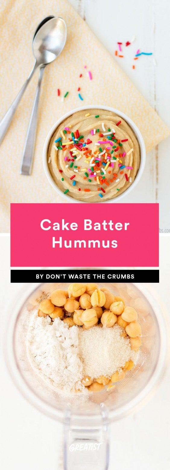 1. Cake Batter Hummus