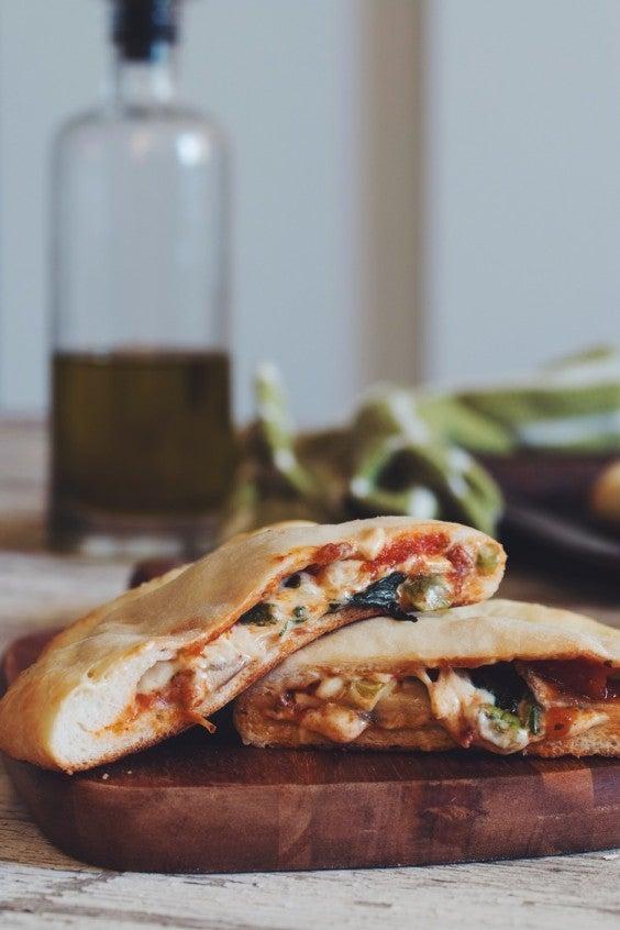 Freezer Meals: Pizza Pockets