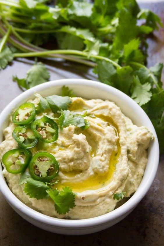 1. Jalapeño Hummus