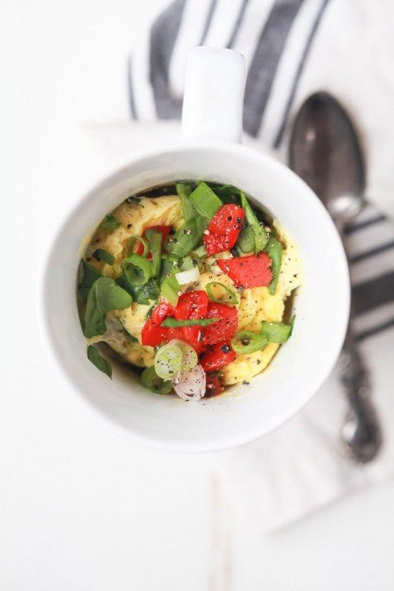 Mug Meals: 2 Minute Omelet