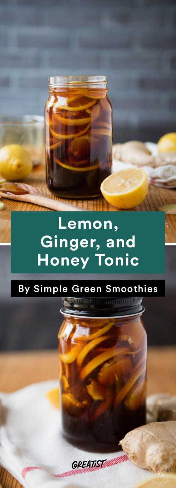 Not PSL: Lemon, Ginger, and Honey Tonic