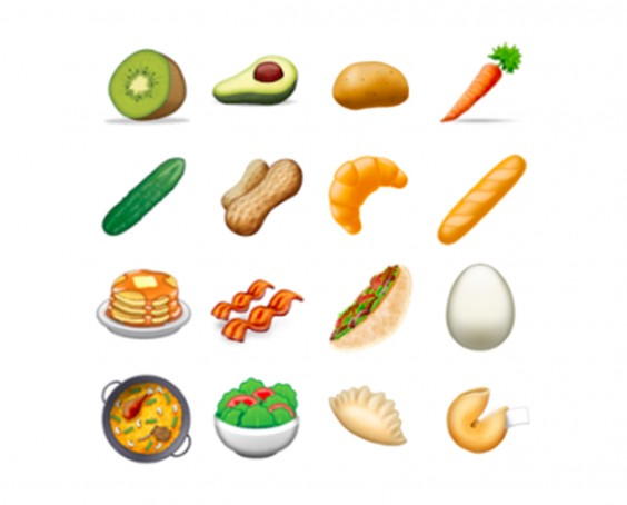 New Food Emojis