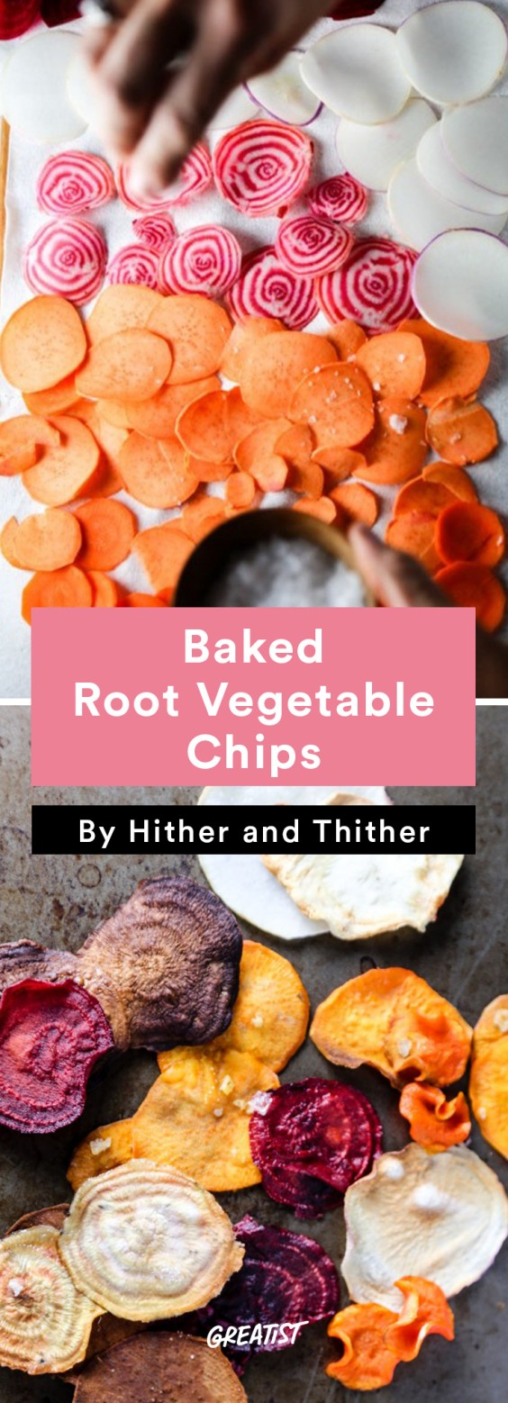 No-Cooler Snacks: Veg Chips