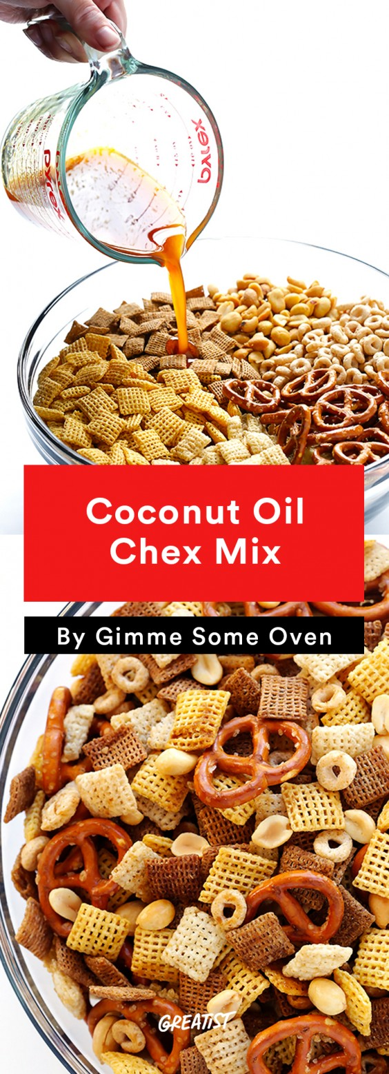 No-Cooler Snacks: Chex Mix