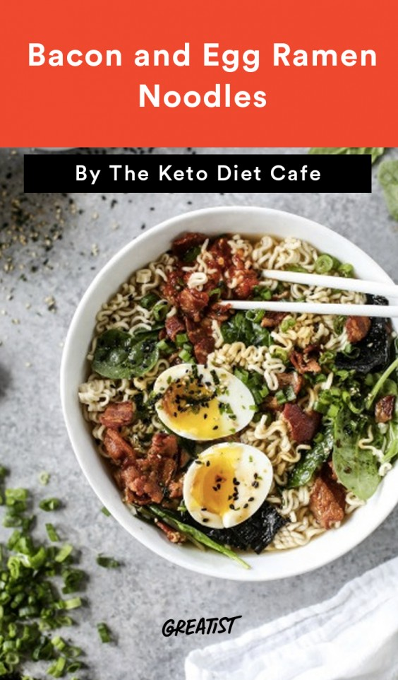 are ramen noodles allowed on a keto diet
