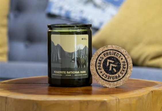 1. Parks Project Yosemite National Park Pine Candle