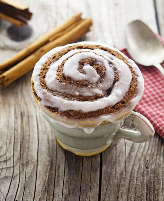 Mug Meals: Cinnamon Roll