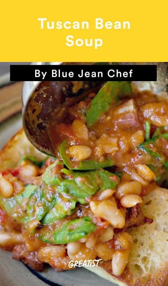 1. Tuscan Bean Soup