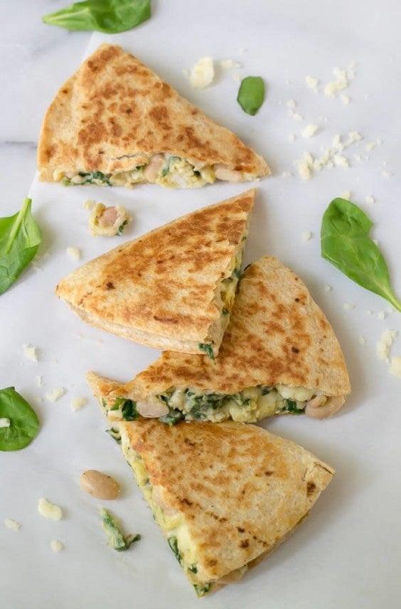 Freezer Meals: Breakfast Quesadilla