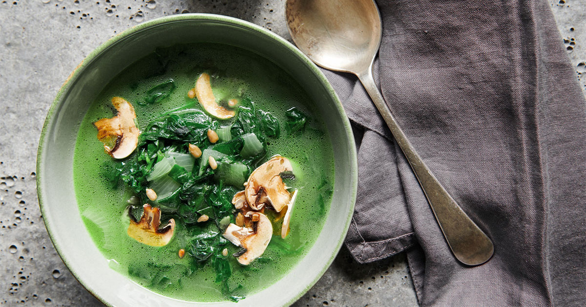 Lose weight by eating soup only
